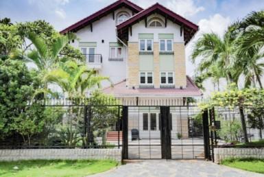 villa in thao dien over view