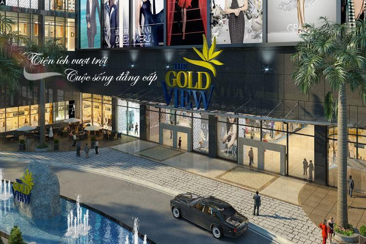The Gold View shopping center