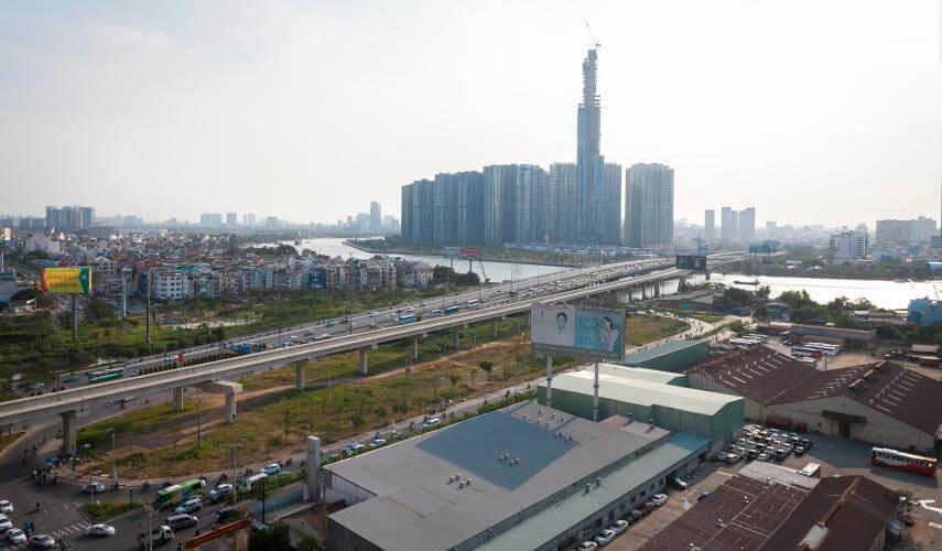 1079 thao dien pearl apartment view