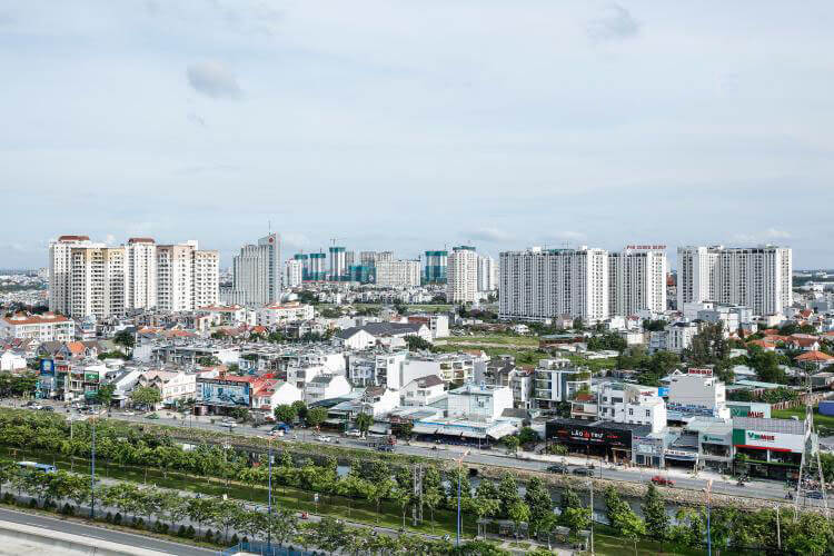 1082 thao dien Pearl apartment view
