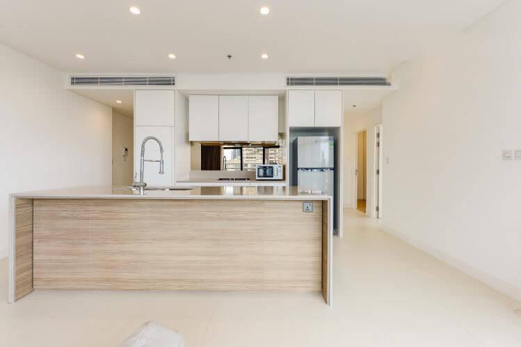 1098 city garden kitchen area