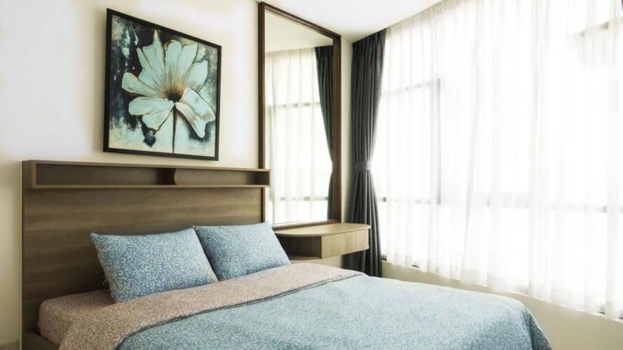 1099 city garden nice bedroom