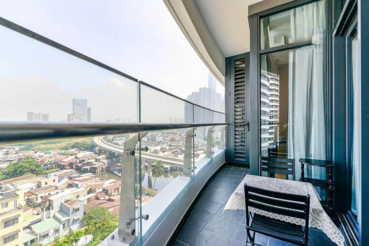 1100 city garden apartment balcony