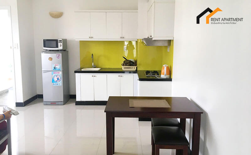 1116 kitchen area serviced apartment