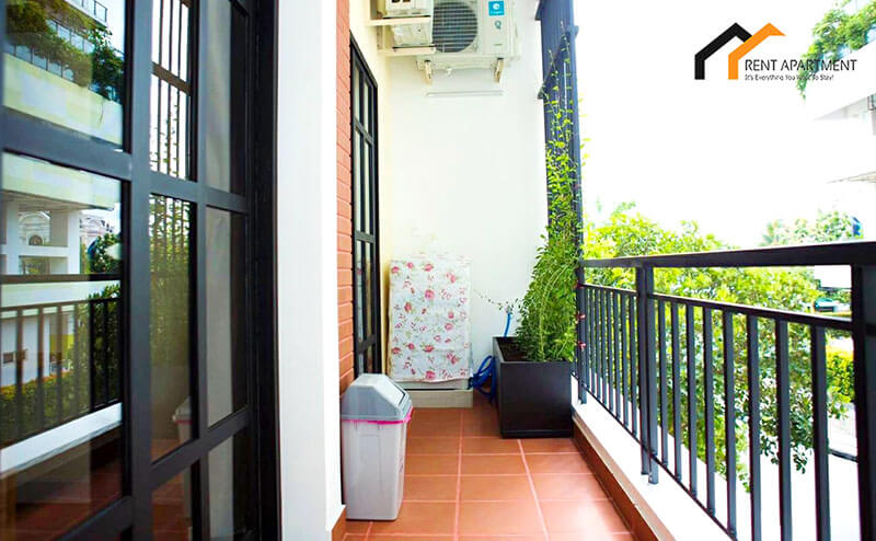 1118 serviced apartment balcony tree