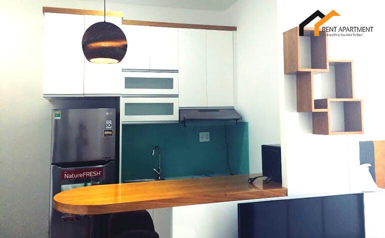 1122 kitchen studio apartment