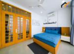 1123 blue bed sheet