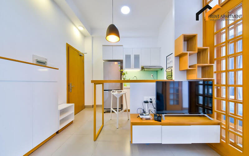 1123 kitchen area serviced apartment