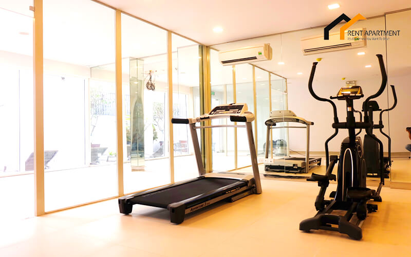 1126 gym room fitness apartment