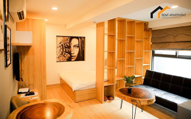 1139 wooden apartment studio
