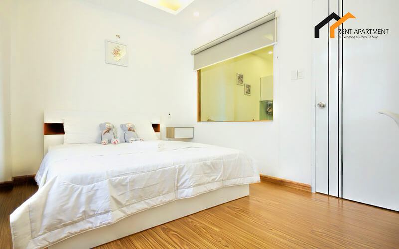1141 serviced apartment bedroom area 1