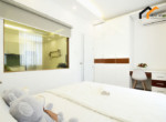 1141 serviced apartment bedroom area 3