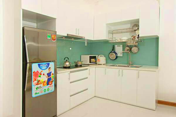 1142 Kitchen area serviced apartment