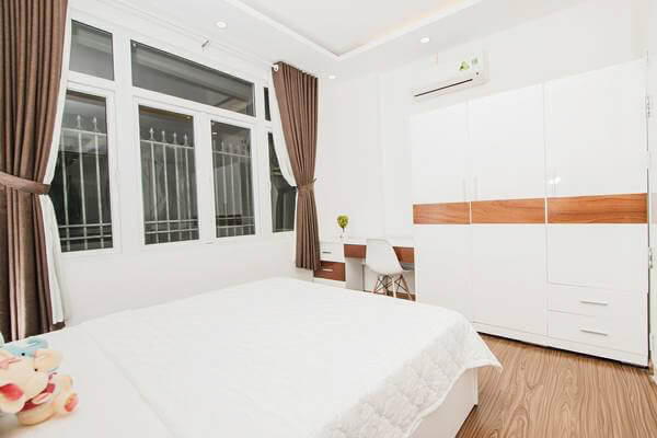 1142 bedroom wooden floor serviced apartment 1