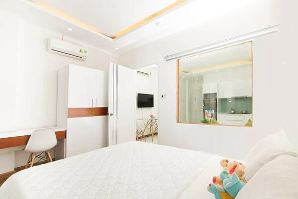 1142 bedroom wooden floor serviced apartment 3
