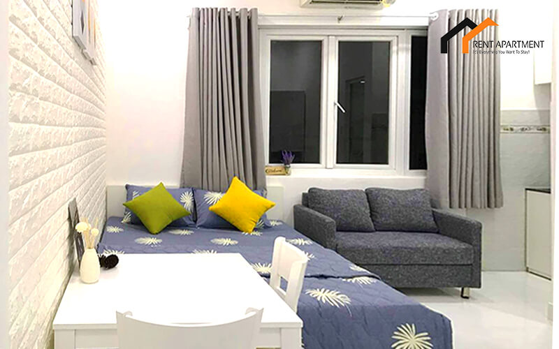 1145 lovely studio serviced apartment