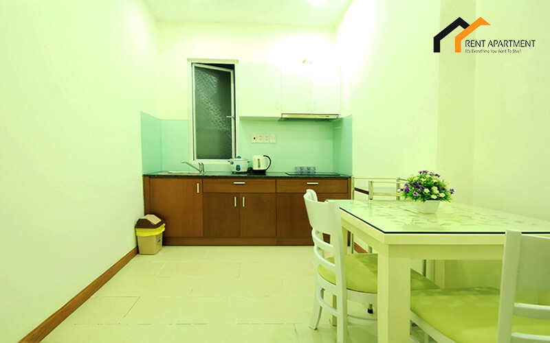1146 The kitchen of the 1 bedroom apartment in Thai Van Lung