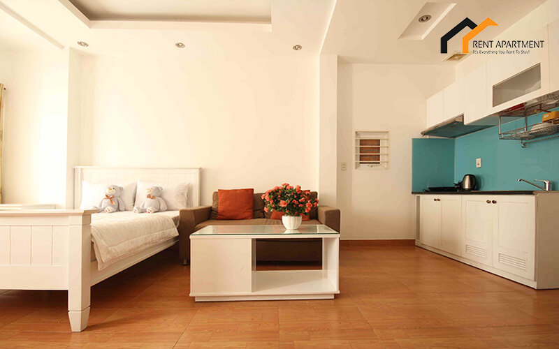 1147 wooden floor serviced apartment