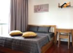 1153 bedroom stuio apartment white