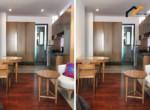 1153 serviced apartment wooden floor