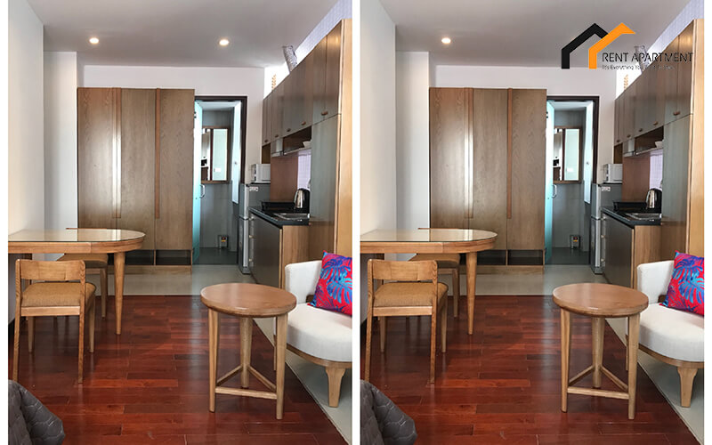 1153 serviced apartment wooden floor