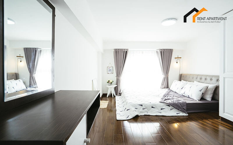 1163 bedroom wooden floor
