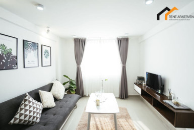 1163 living room serviced apartment