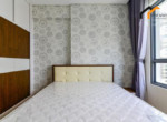 bedroom clean line apartment