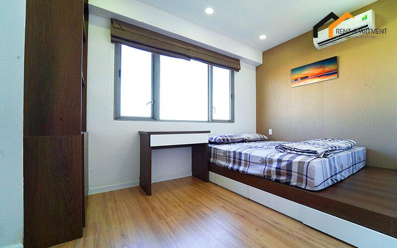 master bedroom cozy apartment rental