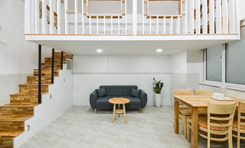 serviecd apartment in tan binh