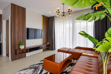 1248-living room apartment with tree