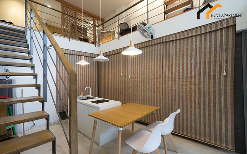 1256 apartment with stair