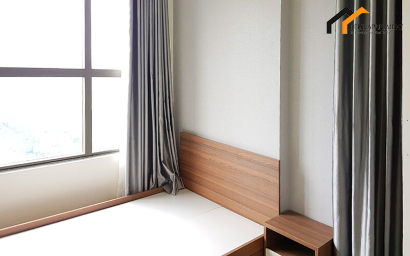 1265 bedroom and curtain