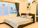 1267 bedroom with bedsheet