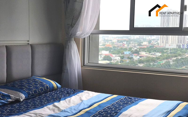 Ho Chi Minh bedroom microwave flat tenant