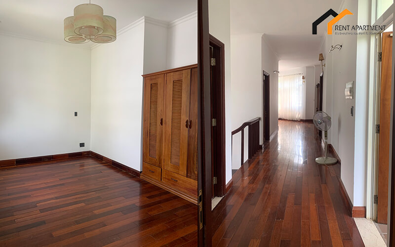 wooden floor villa