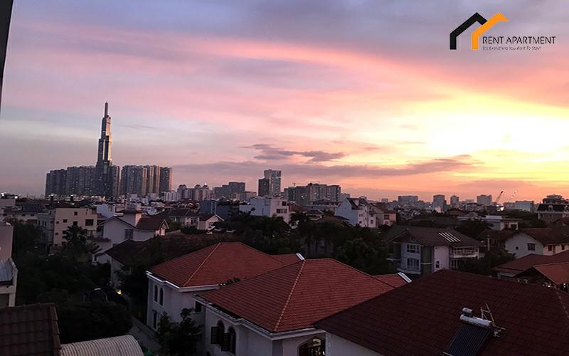 Saigon condos microwave balcony lease