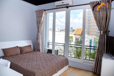bedroom serviced apartment 1303