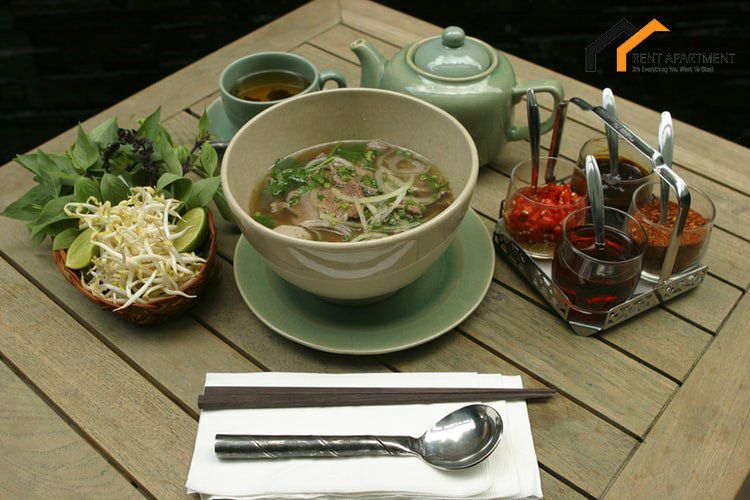 Have a hot bowl of Pho