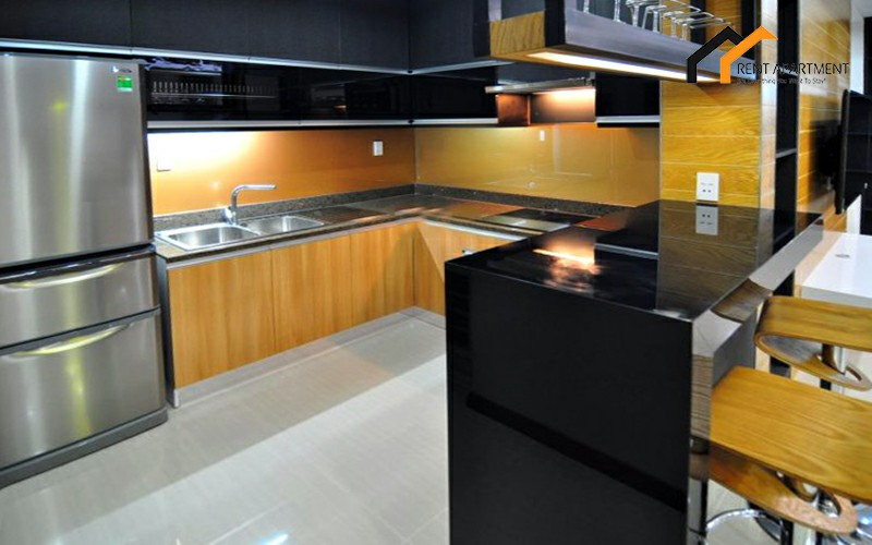 apartment Duplex kitchen balcony lease