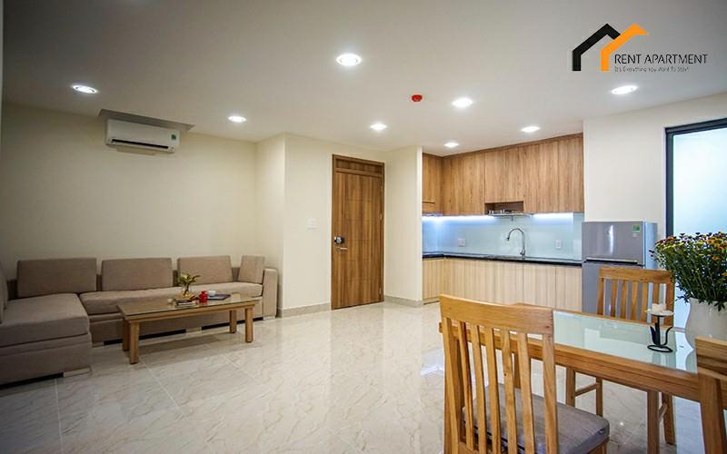 saigon Duplex kitchen serviced lease
