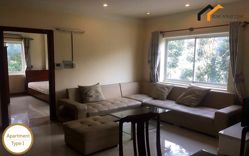 apartment bedroom microwave condominium contract