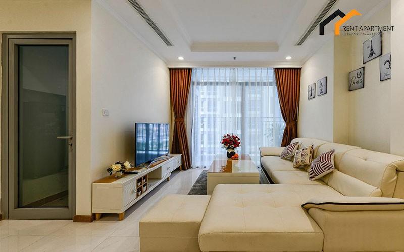 apartment livingroom garden serviced district