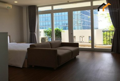 flat livingroom garden studio district