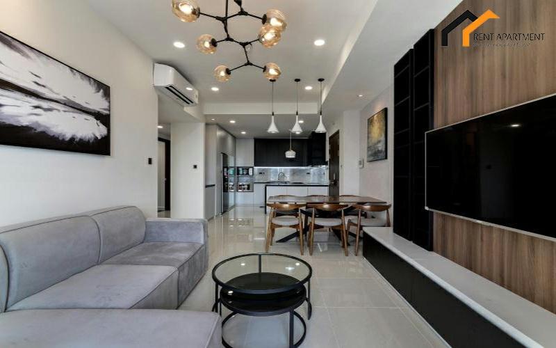 House livingroom microwave flat deposit