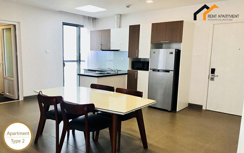 Apartments terrace kitchen window tenant