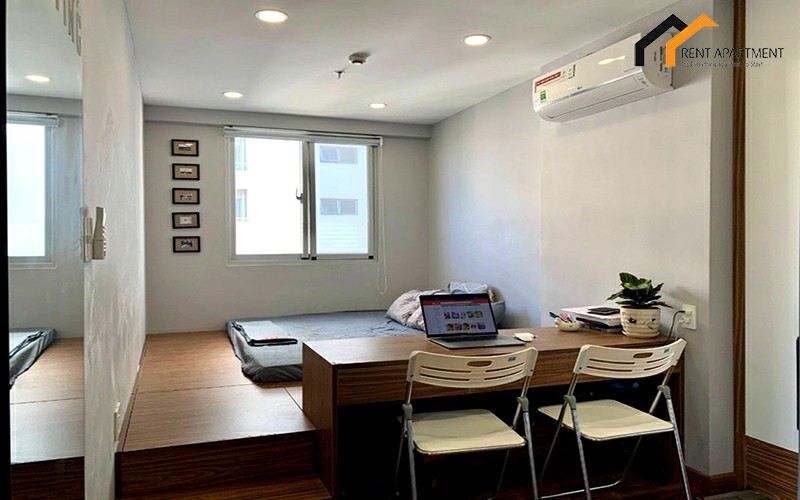 apartment bedroom light service rent