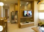 flat building garden room Residential