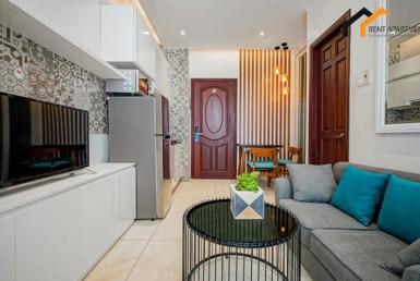 Real estate livingroom light studio deposit