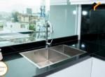 apartment sofa kitchen service sink